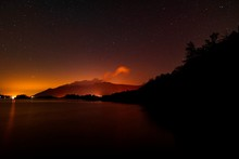 Derwent Water Night Sky And The Plough