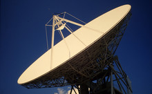 Low Angle View Of Satellite Di...