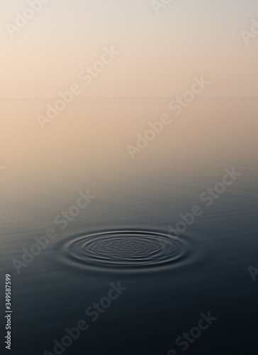 Photo ripples in water