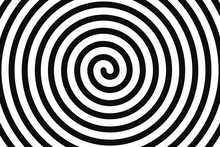 Concentric Hypnotic Spiral. Co...