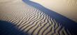 ripples on the beach sand landscape