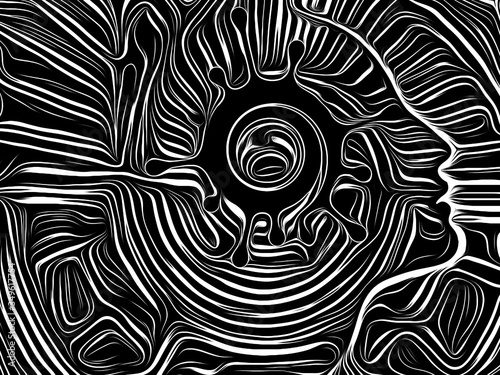 Obraz Virus Black - fototapety do salonu