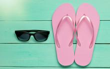 Tropical Beach Lifestyle. Flip...