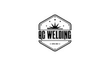 W, Welding, Black,