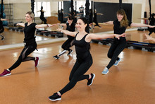 Group Of Active Sports Girls I...