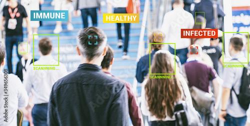 Corona Tracking App zur Überwachung von Kontaktpersonen die mit dem Coronavirus oder Covid-19 infiziert sind