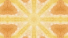 Kaleidoscope Background. Abstract Multicolored Motion Graphic Background.