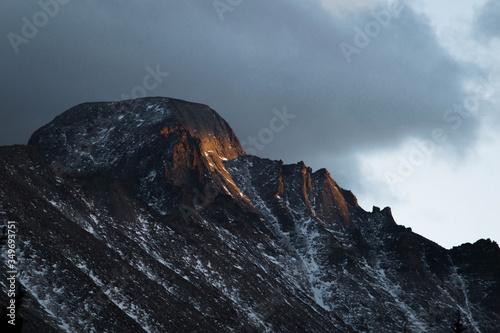 Платно Longs Peak Alpenglow