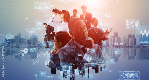 Fototapeta グローバルビジネス obraz