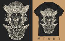 Panther, Tiger, Owl And Mayan ...