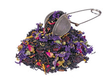 Heap Of Blended Tea With Dry R...
