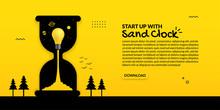 Light Bulb Launch Inside Sand ...