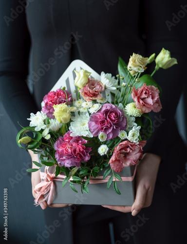 nice bouquet in the hands © Maksim Shebeko