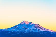 Scenic View Of Mt Shesta When ...