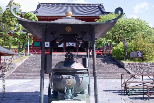 Obraz na plátne 日光山輪王寺 三仏堂の常香炉