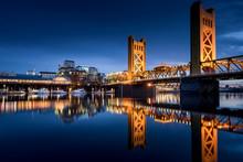 Sacramento Tower Bridge In The...