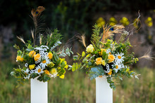 Flower Bouquets Yellow Roses P...