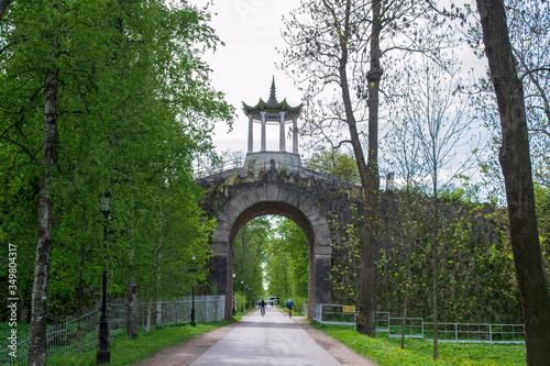 Платно Tsarskoye Selo. Big Caprice Arch