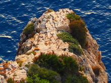 Saliente En La Costa Mediterránea