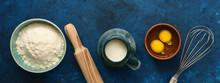 Baking Ingredient- Flour, Egg,...