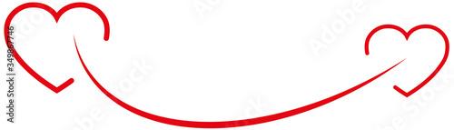 Photo Zwei Herze, Lächeln, Logo, Hintergrund