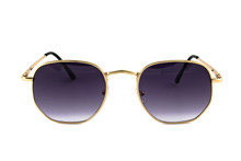 Sunglasses With Dark Blue Colo...