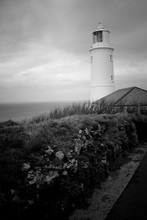 Lighthouse, Looking Out To Sea...