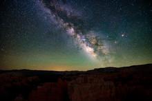 Center Of The Milky Way In Dar...