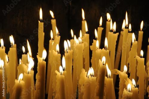 Tablou Canvas bougies