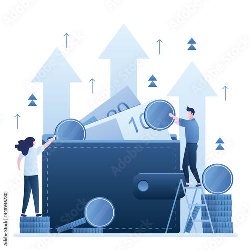 Photo Increase revenue concept