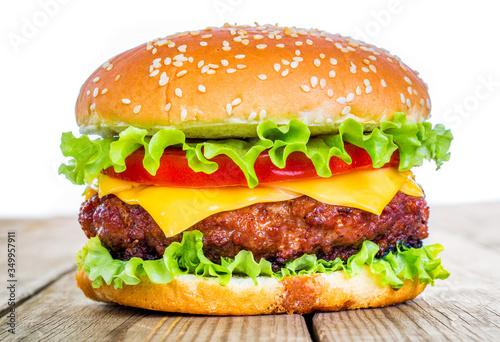 Fototapeta Close-up Of Burger