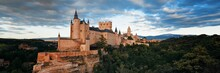 Alcazar Of Segovia Panorama