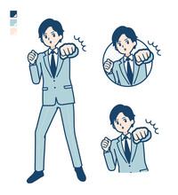Simple Suit Businessman_Punch