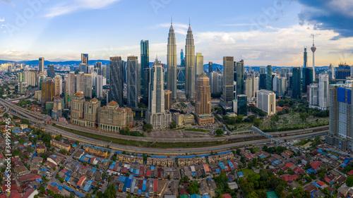 Kuala Lumpur Skyline, Malaysia. Canvas Print