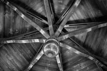Full Frame Shot Patterned Ceiling