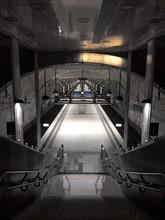 Platform Seen From Escalator