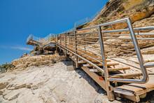 Staircase Beach Access. Pismo Beach, Central California Coast