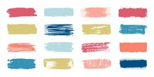 Brush Paint Swatch. Makeup Str...