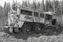 Old Fire Truck Left To Rot In The Alaskan Wilderness