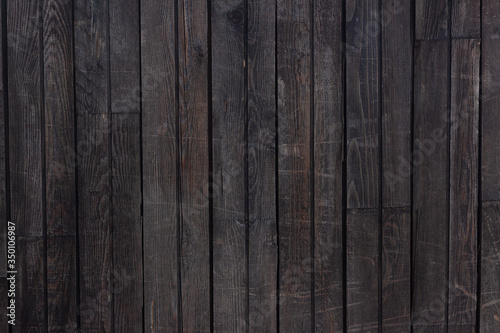 Fototapeta Old dark wooden texture for background obraz na płótnie