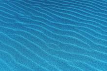 Blue Sand Dunes Closeup, Sun Flare, Abstract