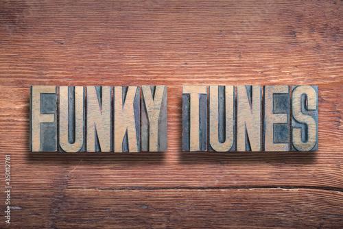 funky tunes wood Tapéta, Fotótapéta