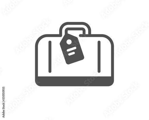 Photo Airport hand baggage reclaim icon