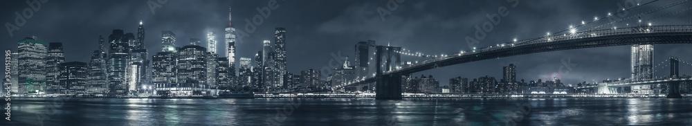 Fototapeta Manhattan panorama