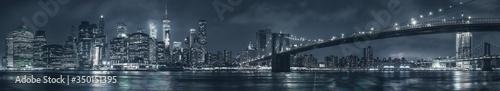 Obraz Manhattan panorama - fototapety do salonu