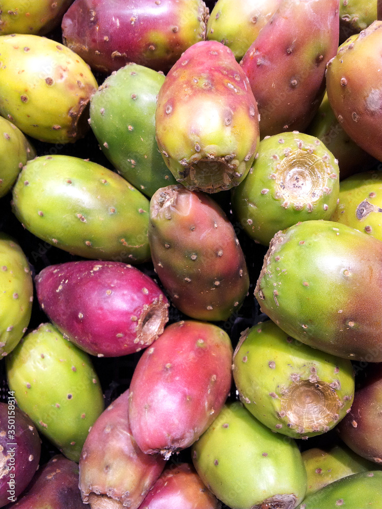 Fototapeta Full Frame Shot Of Prickly Pears
