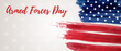 Armed forces day - USA holiday