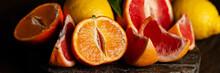 Slices Of Ripe Fresh Organic C...