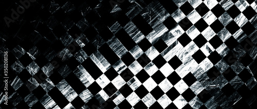 Abstract grunge background. Dynamic texture with shiny elements. Fototapeta