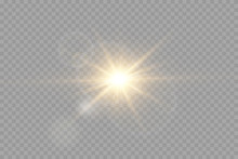 Vector Transparent Sunlight Sp...